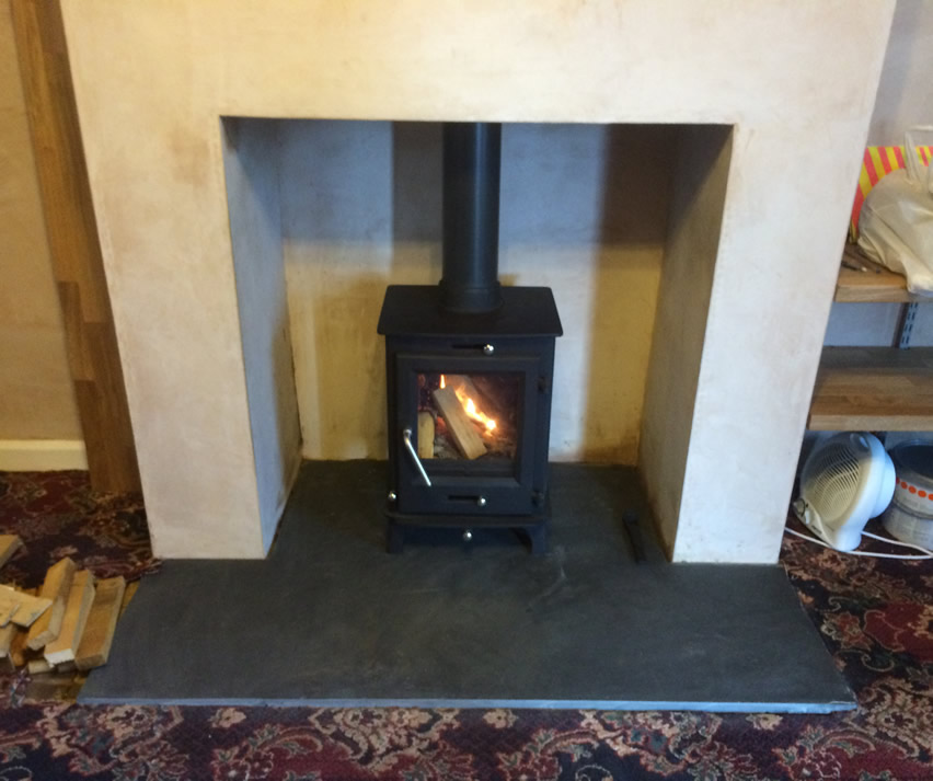 5kw OTTAWA Stove in Bridgwater. Woodburner Installation in Bridgwater - 5kw OTTAWA Stove In Bridgwater - Cosy Stoves