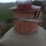 New pot and flaunched to chimney with cowl